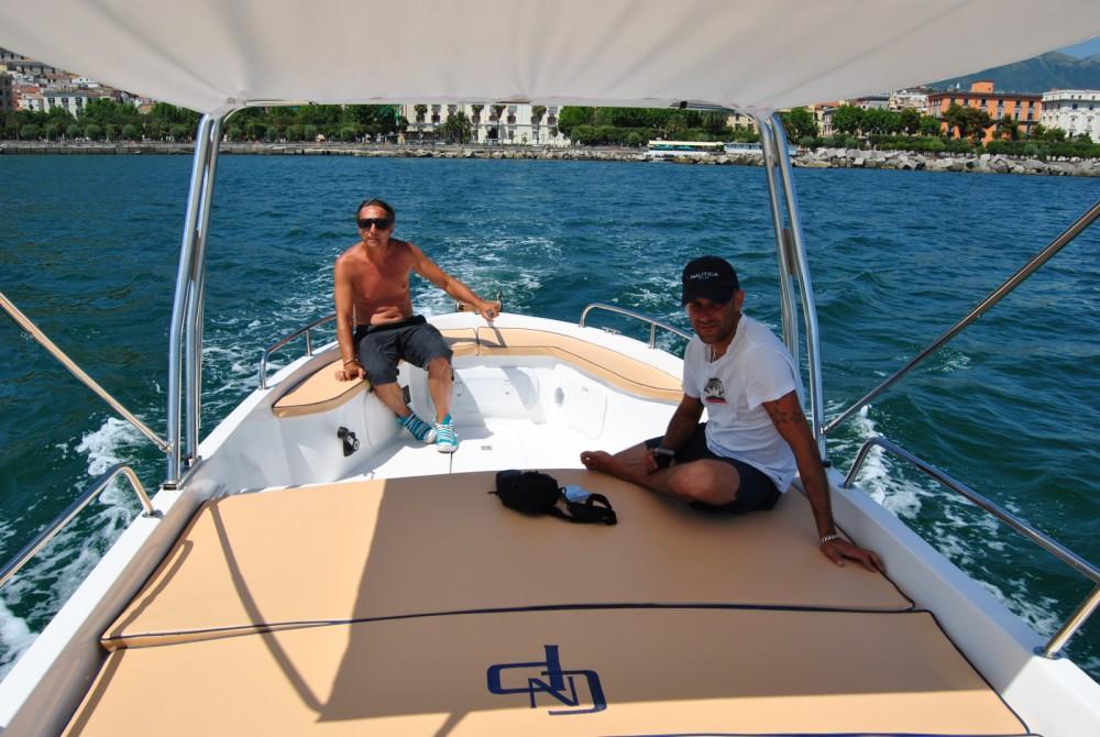 Boat rental Gozzo Partenope Gozzo Partenope 21 in Salerno on Samboat