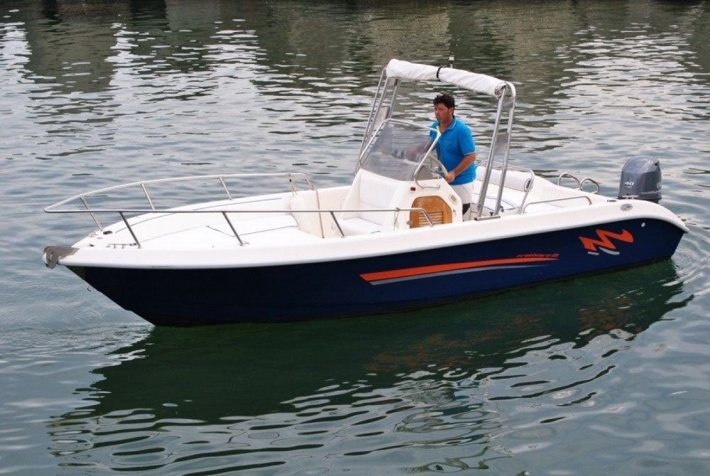 Rental Motor boat Terminal Boat with a permit