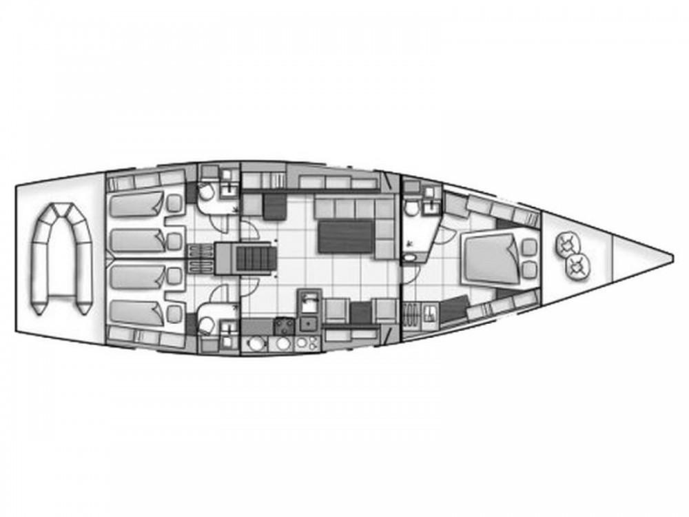 Boat rental Hanse Hanse 540 in Castiglioncello on Samboat