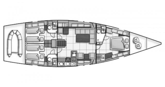 Louez un Hanse Hanse 540 à Castiglioncello