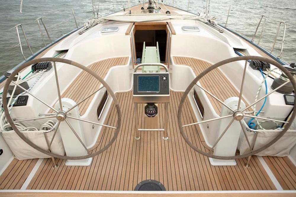 Noleggio barche Castiglioncello economico Hanse 540