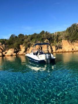 Location yacht à Belvédère-Campomoro - Jeanneau Cap Camarat 715 WA sur SamBoat