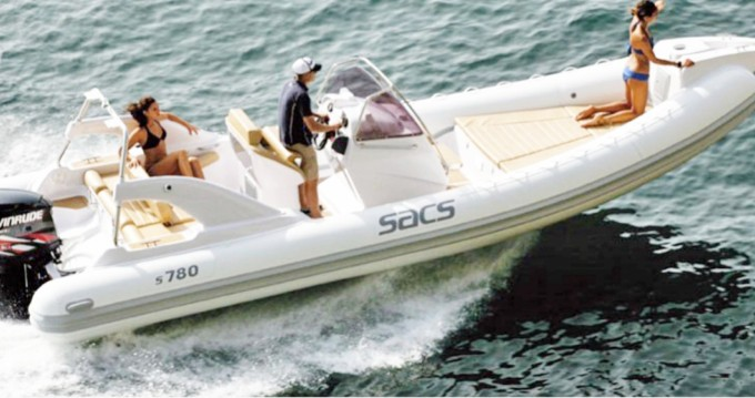 Verhuur Rubberboot in Amalfi - Sacs Sacs s780