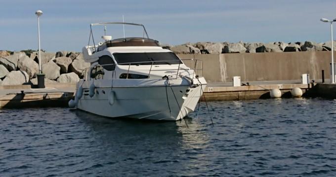 Louer Bateau à moteur avec ou sans skipper Azimut à Cap-d'Ail