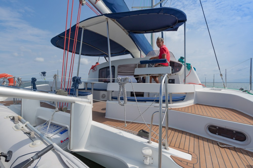 Boat rental Fountaine Pajot Lavezzi 40 in Arcachon on Samboat