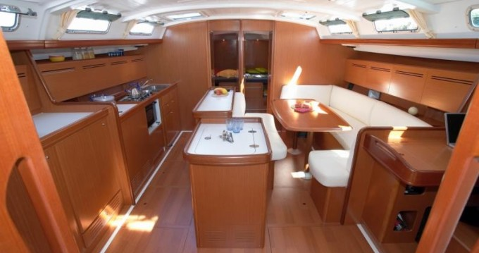 Location bateau Nikiti pas cher Cyclades 50.5