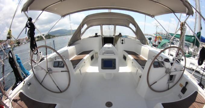 Location bateau Bénéteau Cyclades 50.5 à Nikiti sur Samboat