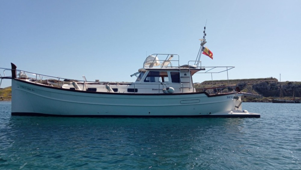 Rental Yacht Menorquin Yachts with a permit