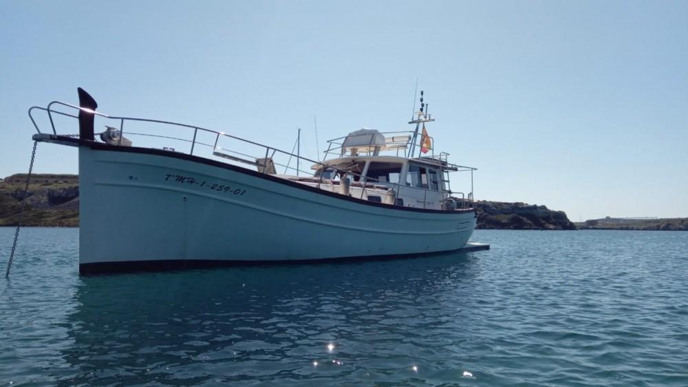Alquiler Yates Menorquin Yachts con título de navegación