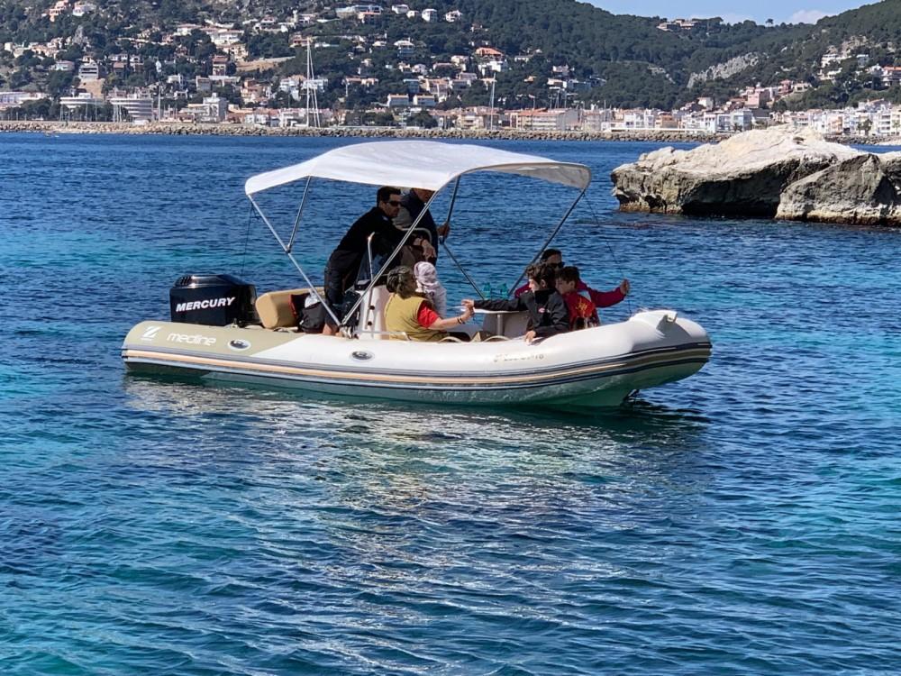Verhuur Rubberboot in Torroella de Montgrí - Zodiac Medline 580 Limited Edition