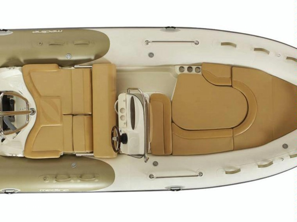 Huur Rubberboot met of zonder schipper Zodiac in Torroella de Montgrí