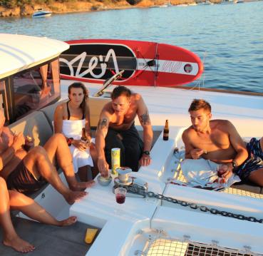 Catamaran à louer à La Capte au meilleur prix