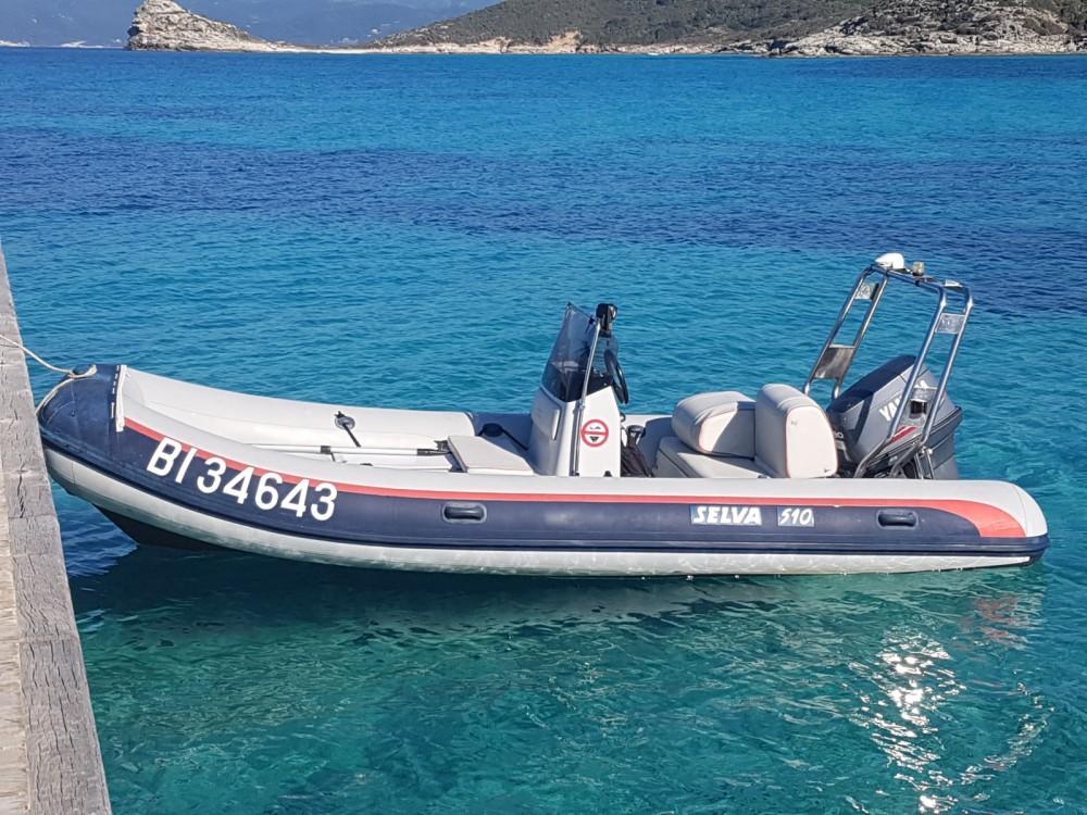Huur Rubberboot met of zonder schipper Selva in Saint-Florent