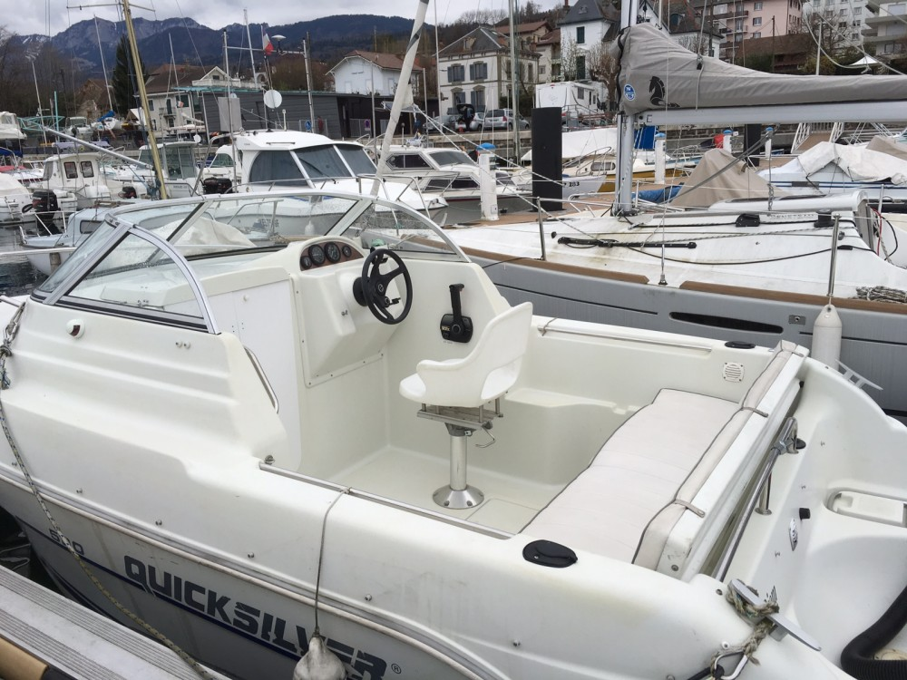 Location yacht à Évian-les-Bains - Quicksilver Quicksilver 520 Cruiser sur SamBoat
