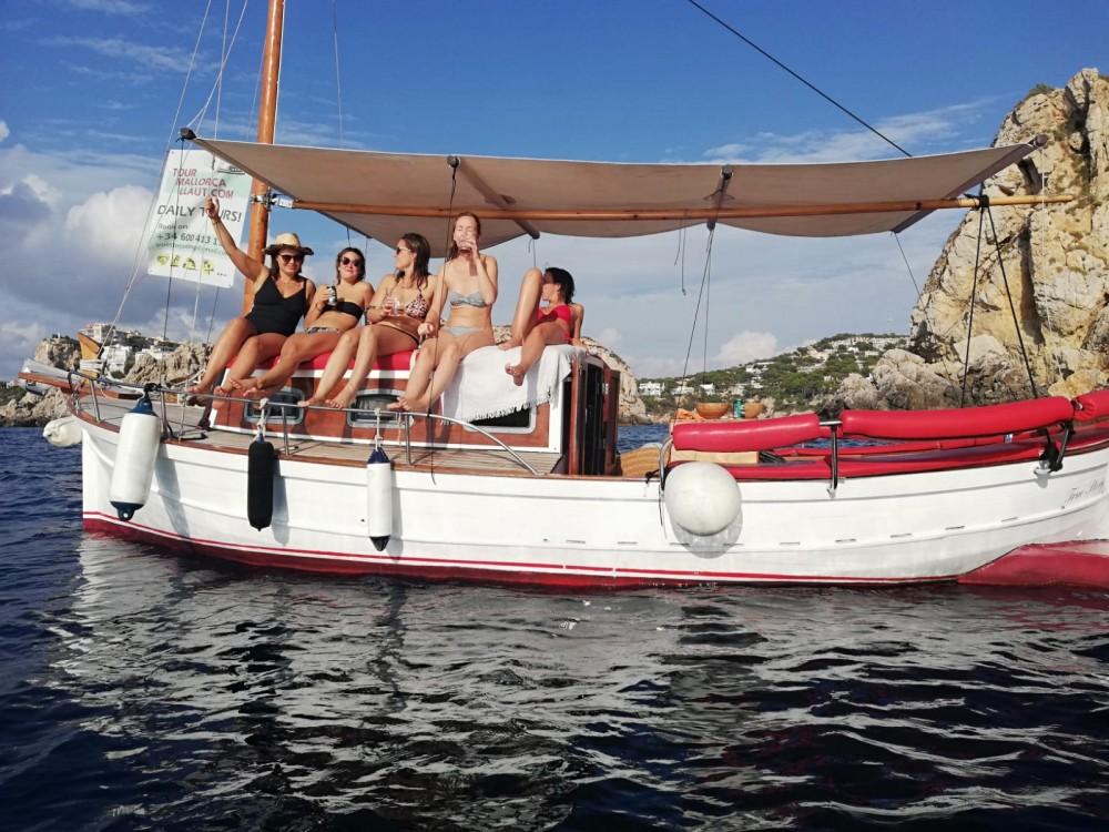 Boat rental Calvià cheap LLaut artesanal