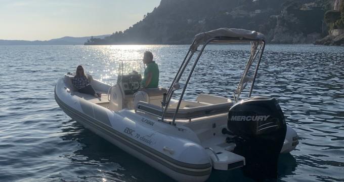 Noleggio barche San Giovanni Capo Ferrato economico BSC 70 Classic