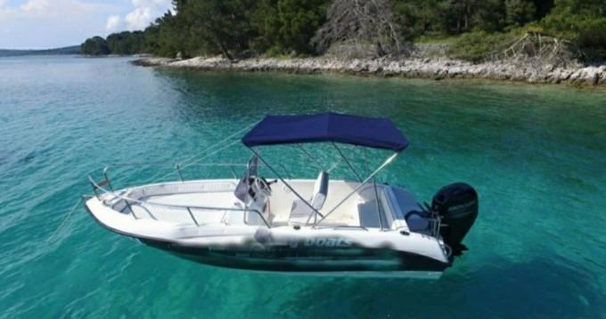 Location bateau Inter Grupa Fisher 17 à Mali Lošinj sur Samboat