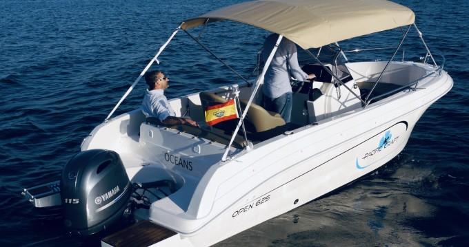 Boat rental Palma cheap Pacific Craft 625 Open
