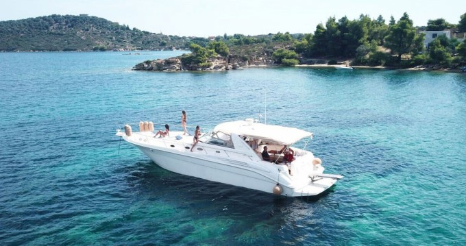 Location yacht à Ormos Panagias - Sea Ray Sea Ray 450 Sundancer sur SamBoat