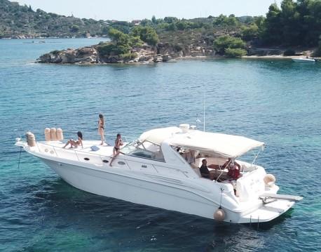 Location bateau Sea Ray Sea Ray 450 Sundancer à Ormos Panagias sur Samboat