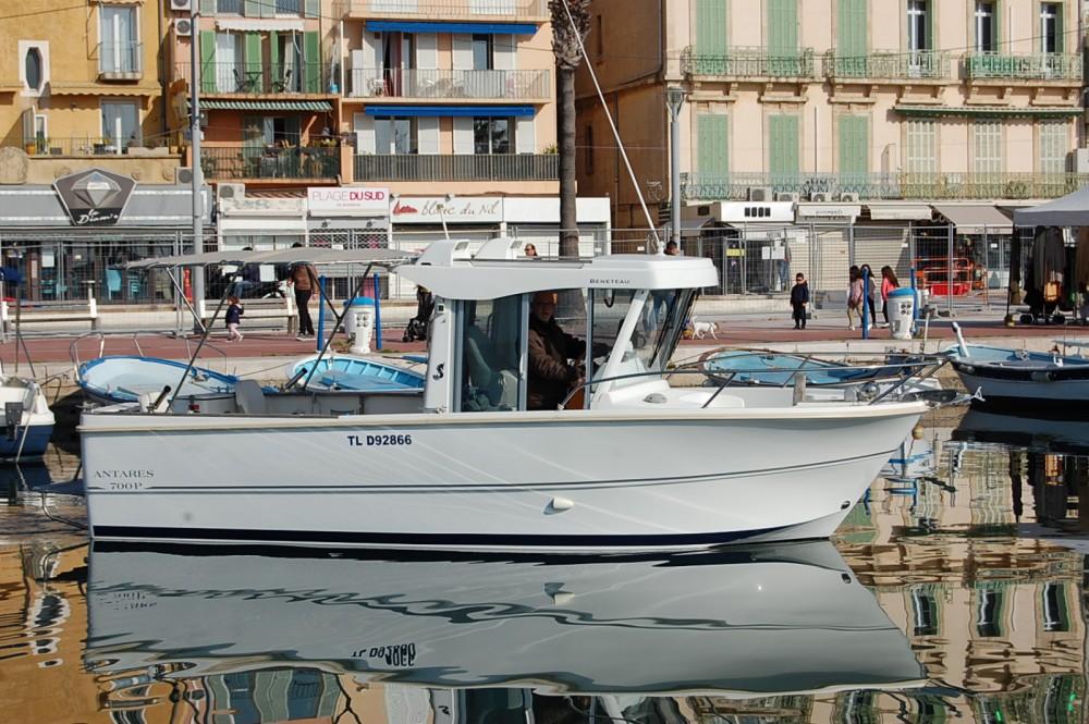 Bootverhuur Bénéteau Antares 700 Fishing in Bandol via SamBoat
