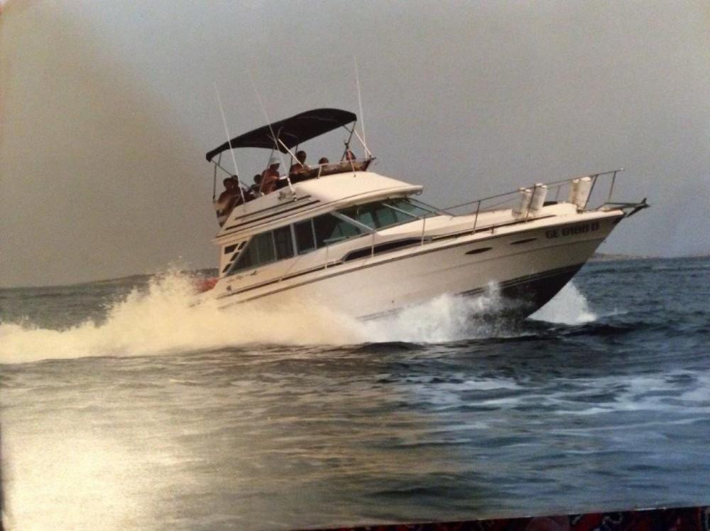 Boat rental Sardinia cheap Sea Ray 340 Sedan Bridge