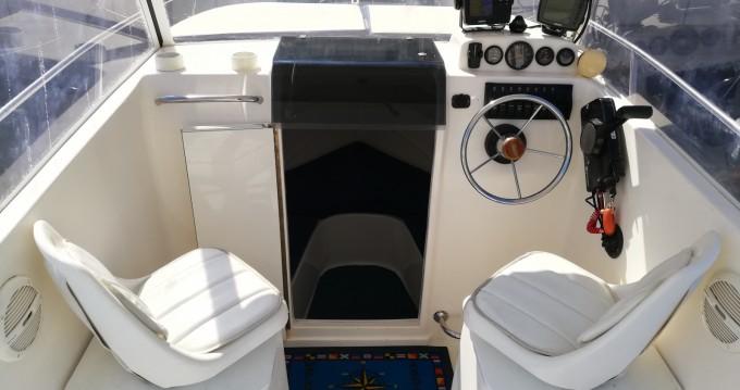 Location bateau Trogir pas cher Cabin Fisher 540