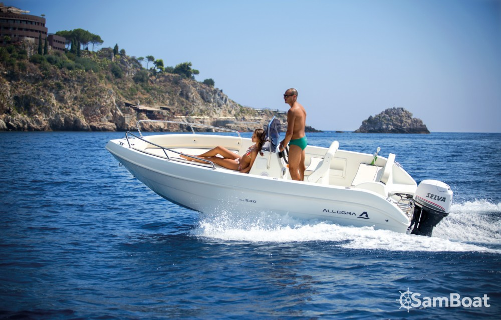 Rent a Allegra Boats ALL 5.30 Santa Margherita Ligure