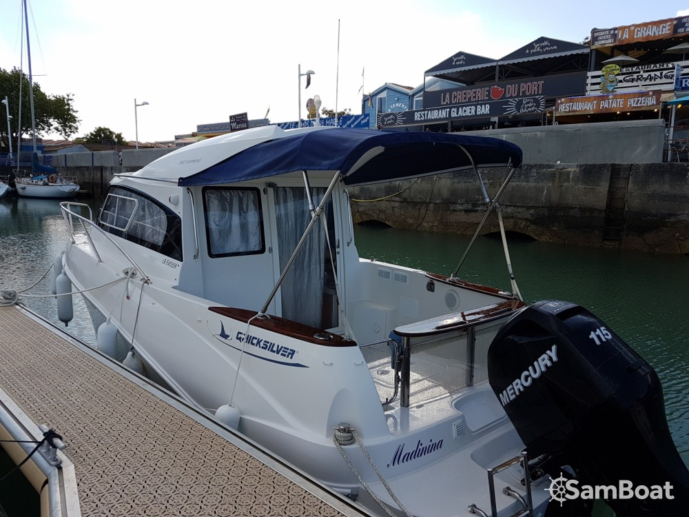 Location bateau Quicksilver Quicksilver 640 Week-End à Le Château-d'Oléron sur Samboat