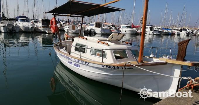 Motor boat for rent el Masnou at the best price