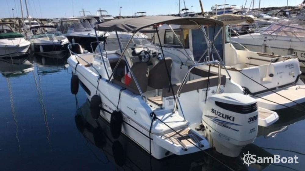 Location bateau Sanary-sur-Mer pas cher Cap Camarat 755 WA