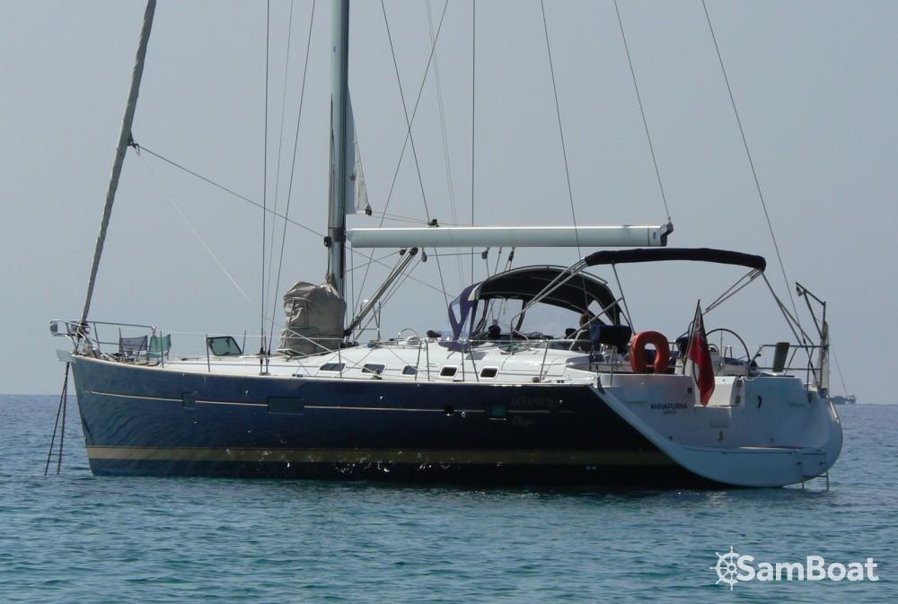 Location bateau Antibes pas cher Oceanis 523 Clipper