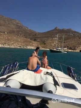 Location bateau Cranchi Mediterranee 40 à Serifos sur Samboat