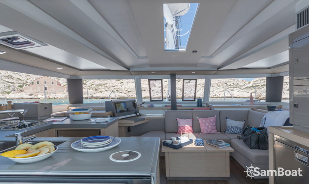 Fountaine Pajot Astrea 42 between personal and professional Ibiza