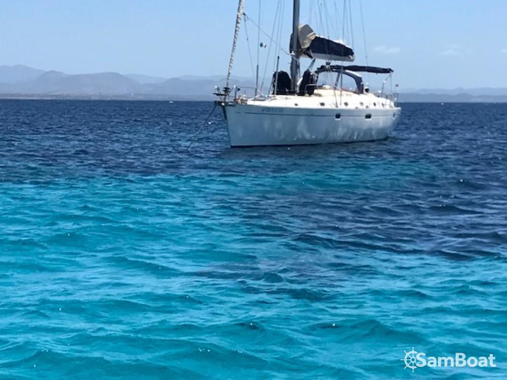 Boat rental Ibiza Magna cheap Oceanis 50