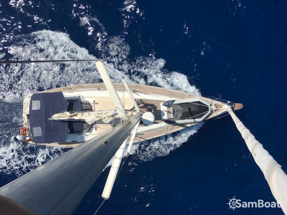 Rental Sailboat in Ibiza Magna - Bénéteau Oceanis 50