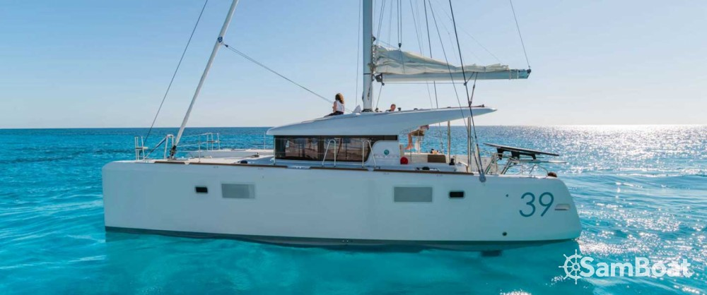 Rental Catamaran in Porto Rotondo - Lagoon Lagoon 39