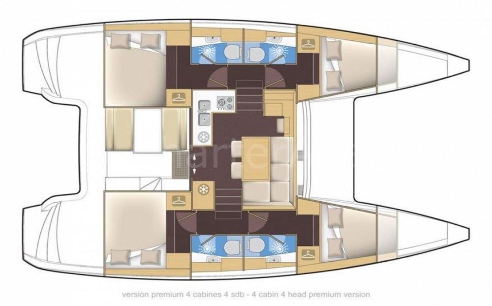 Louer Catamaran avec ou sans skipper Lagoon à Porto Rotondo