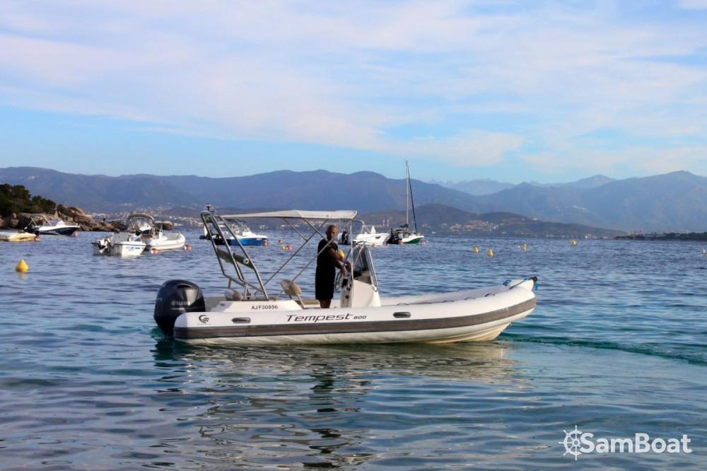 Location bateau Pietrosella pas cher Tempest 600 Open