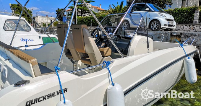 Rental Motor boat in Zadar - Quicksilver Activ 605 Open Pack Sport