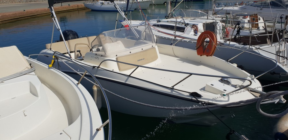 Hire Motor boat with or without skipper Quicksilver Cogolin