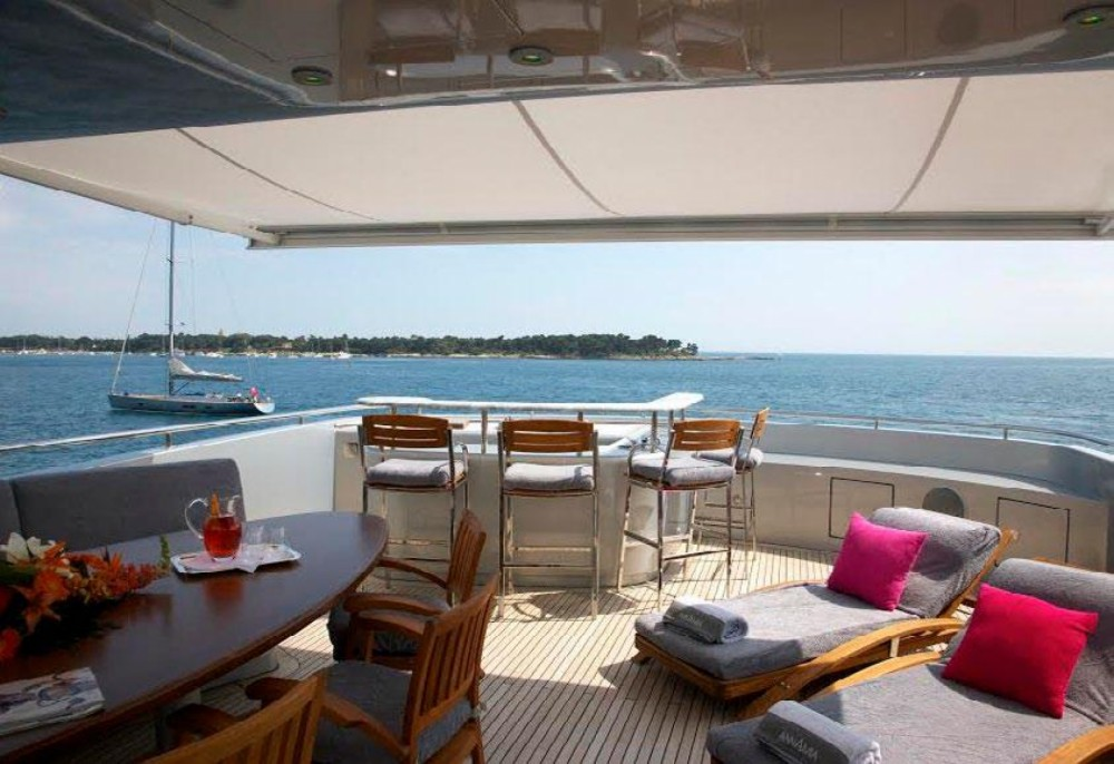 Boat rental Saint-Tropez cheap Baglietto 43