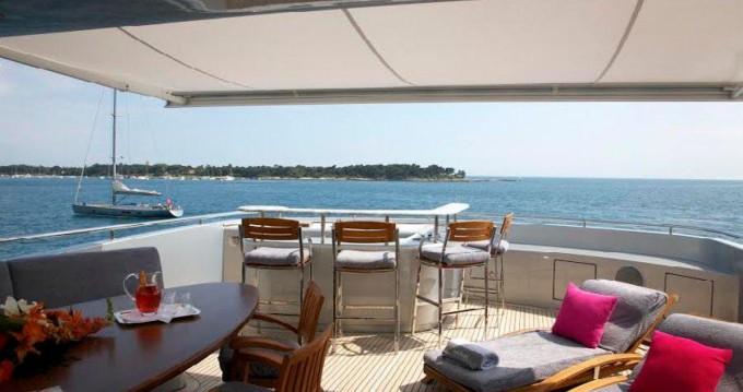 Location bateau Saint-Tropez pas cher Baglietto 43