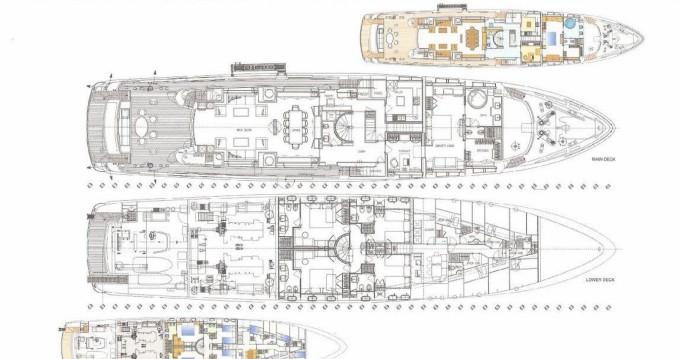 Location bateau Baglietto Baglietto 43 à Saint-Tropez sur Samboat