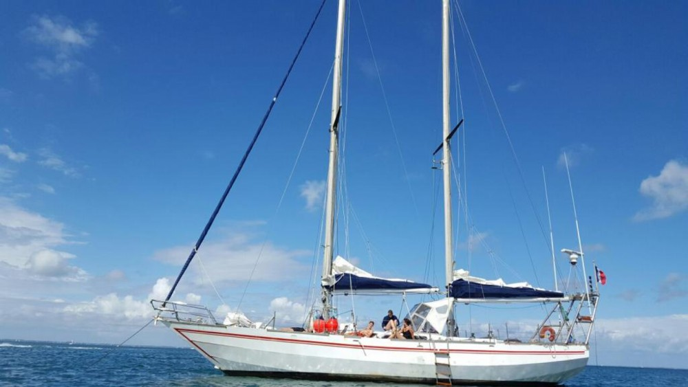 Location bateau Lorient pas cher Goélette 55 pieds