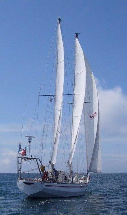 Rio Goélette 55 pieds entre particuliers et professionnel à Lorient