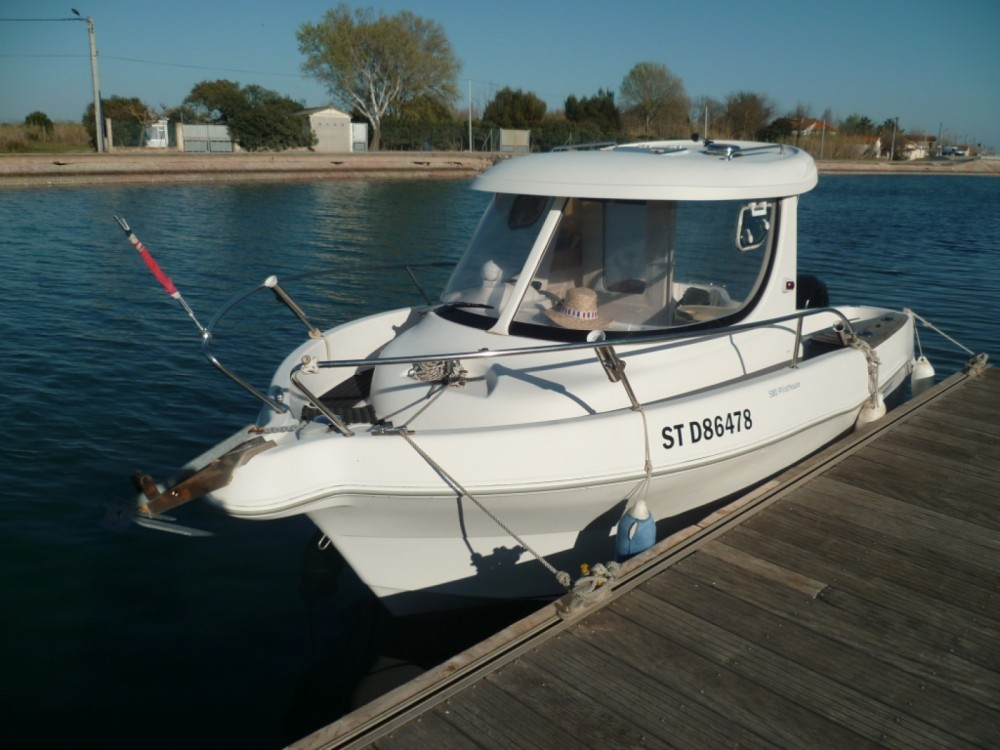 Location yacht à Marseillan - Quicksilver Quicksilver 580 Pilothouse sur SamBoat