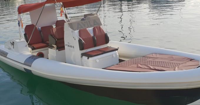 Schlauchboot mieten in Cala Nova - AVILA TUONO TYPE 7