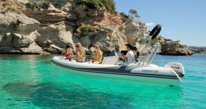 Alquiler de Grand Boats Golden Line G500 en Calviá