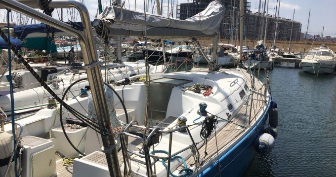 Rental yacht Barcelona - Hanse Hanse 400 E on SamBoat